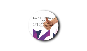 Bouton questionnaire de satisfaction 1