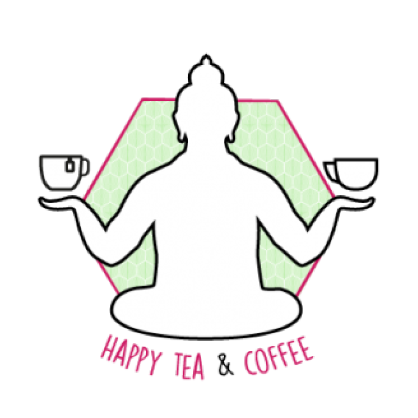 Logo happy tea and coffee