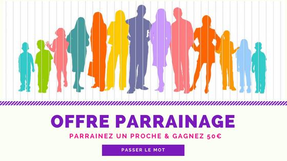 Offre parrainage 1