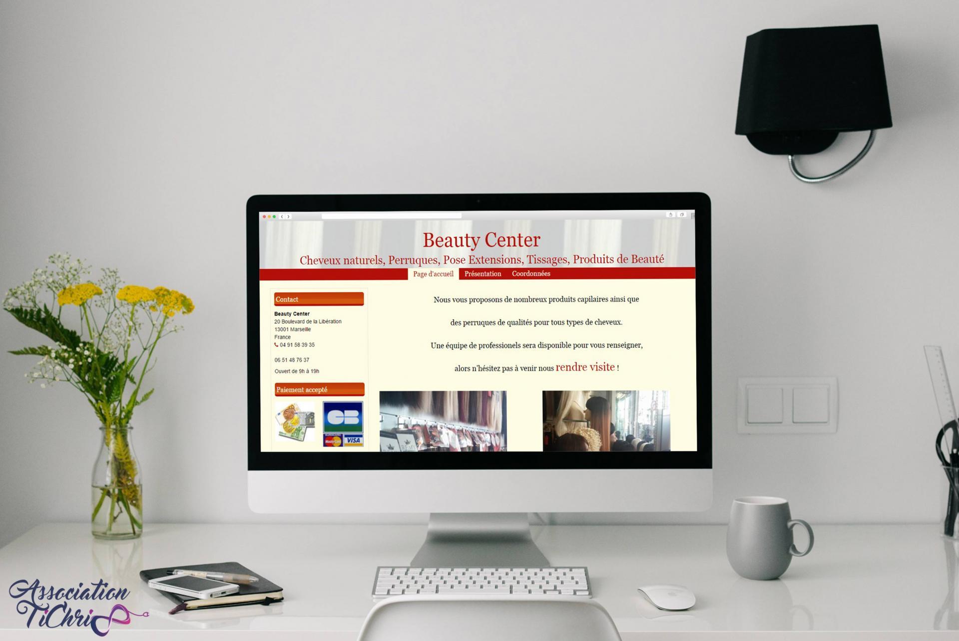 Centre de formation site web tichri53