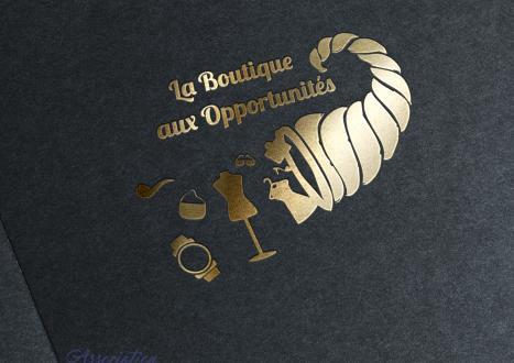 Logo boutique aux opportunites