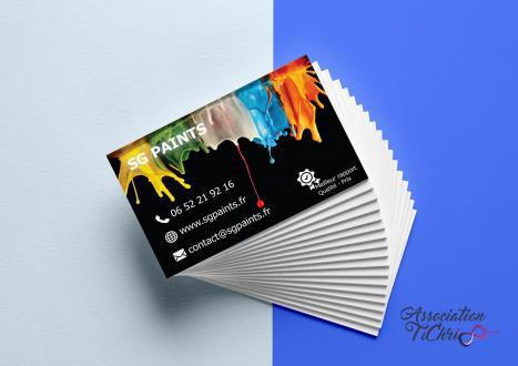 Realistic business cards mockup 6 copie