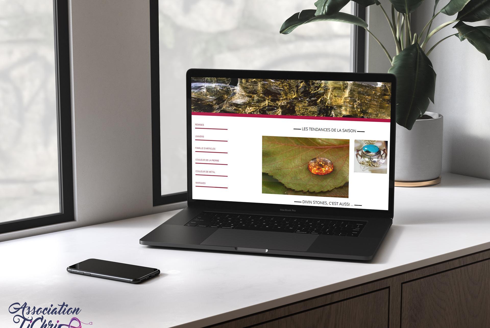 Site web divinstones