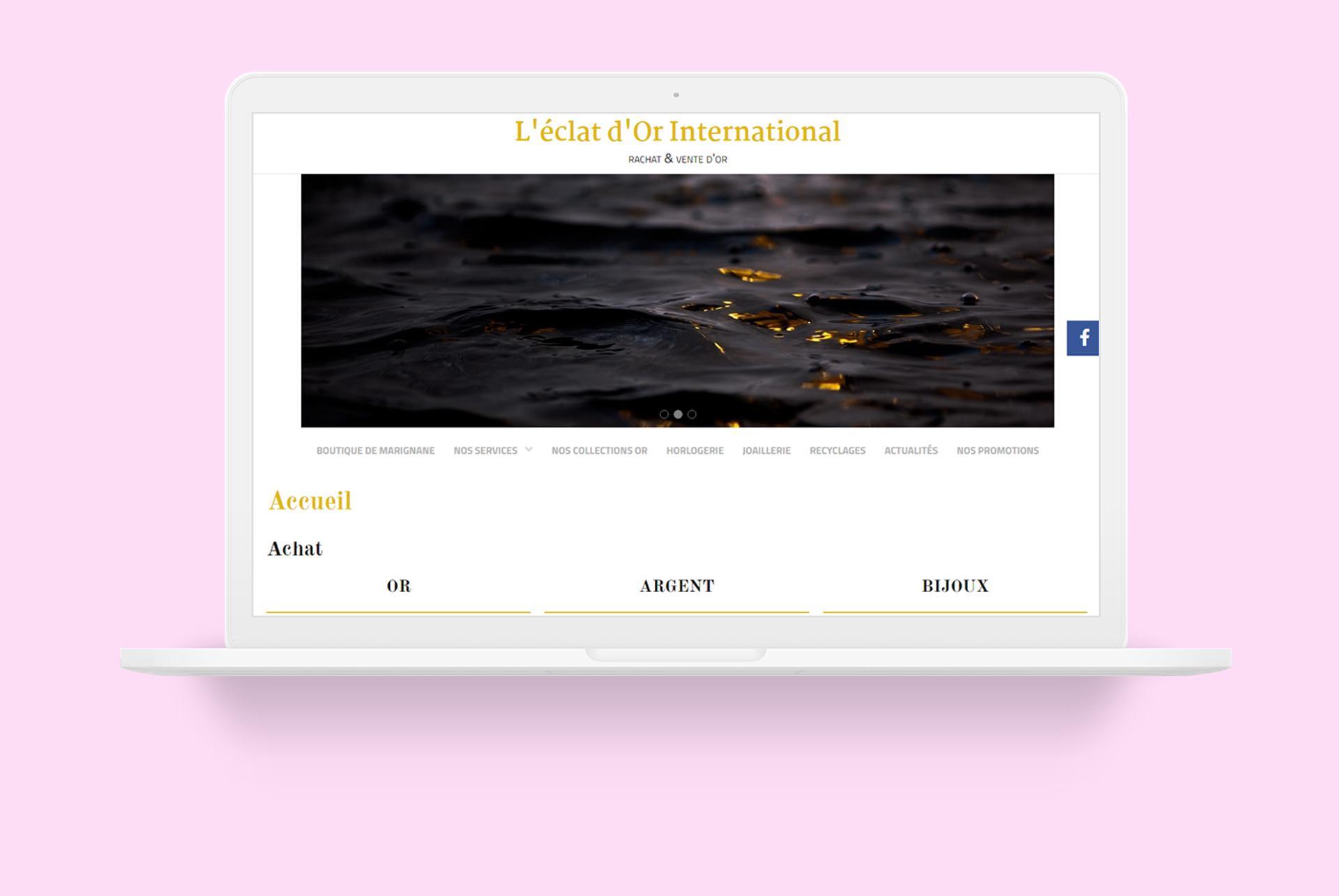 Site web eclat dor